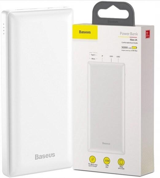 BASEUS POWER-BANK 30000 mAh DUŻY USB / USB-C 3A PD - 1
