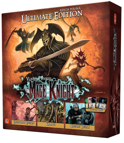 Mage Knight Ultimate Edition PL - 1