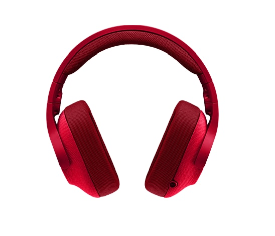Logitech G433 Surround 7.1 USB Gaming Headset (Red) Red - 1