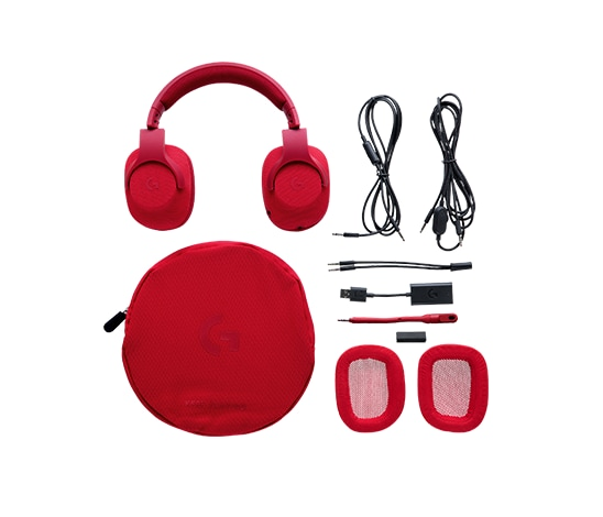 Logitech G433 Surround 7.1 USB Gaming Headset (Red) Red - 2