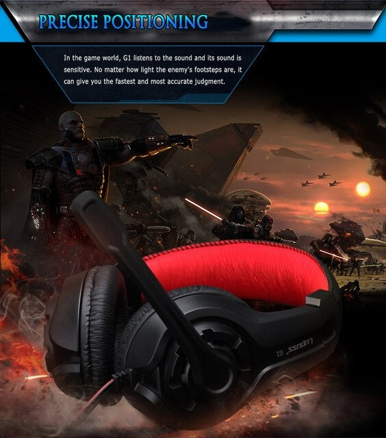 Stereo Gaming Headset  Blue - 5