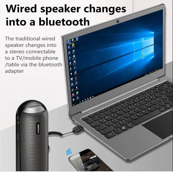 Bluetooth Auto Hands-Free USB Aux Adapter - 2