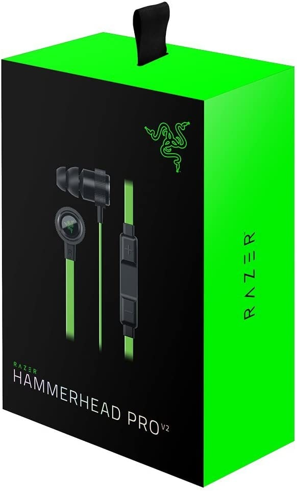 Razer Hammerhead Pro V2 Earphone With Microphone Black - 5