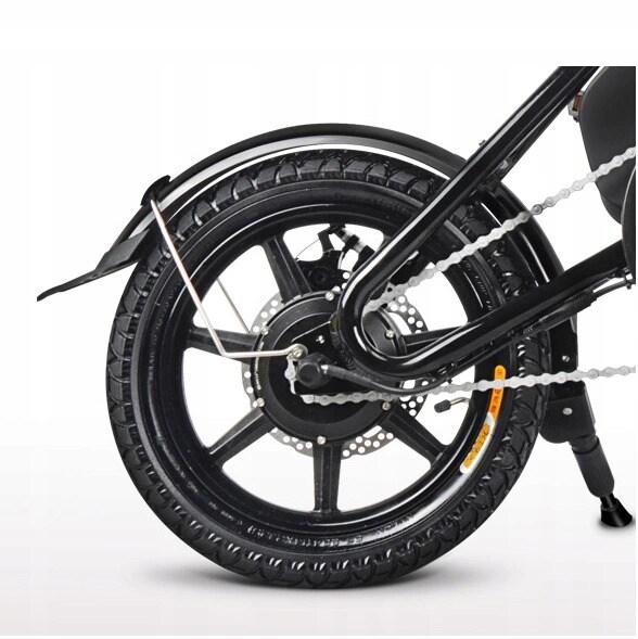 FIIDO D3 Folding Electric Bike 250W 7.8Ah 14 inches - White - 8