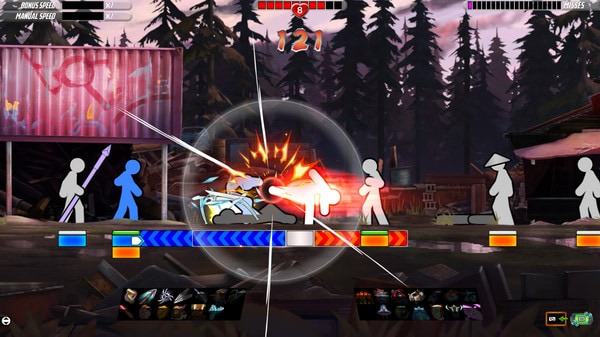 One Finger Death Punch 2 (PC) - Steam Key - GLOBAL - 2