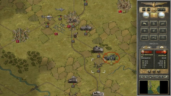 Panzer Corps Steam Key GLOBAL - 2