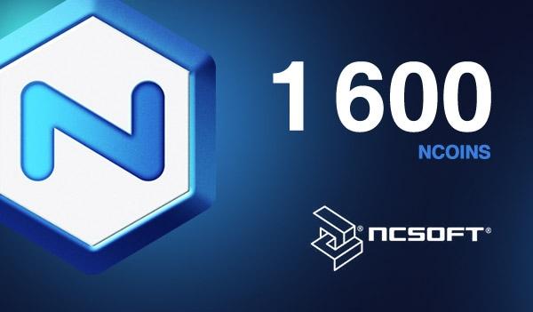 1600 NCoins NCSoft Code EUROPE - 1