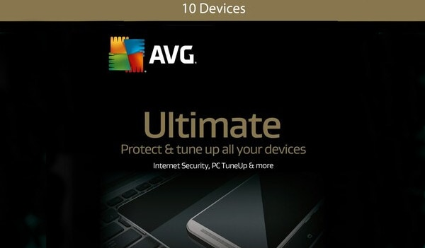 AVG Ultimate Multi-Device (10 Devices, 2 Years) - AVG PC, Android, Mac, iOS - Key GLOBAL - 1