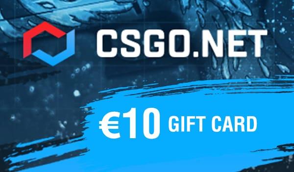 CSGO.net Gift Card 10 EUR - 1