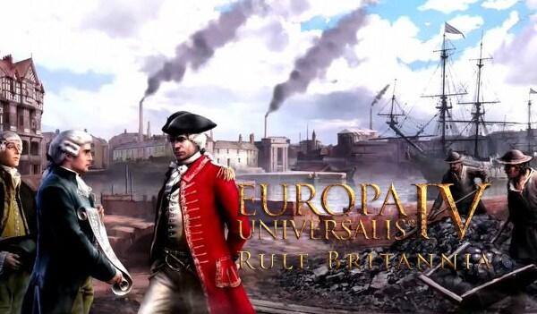 Europa Universalis IV: Rule Britannia (PC) - Steam Key - GLOBAL - 2