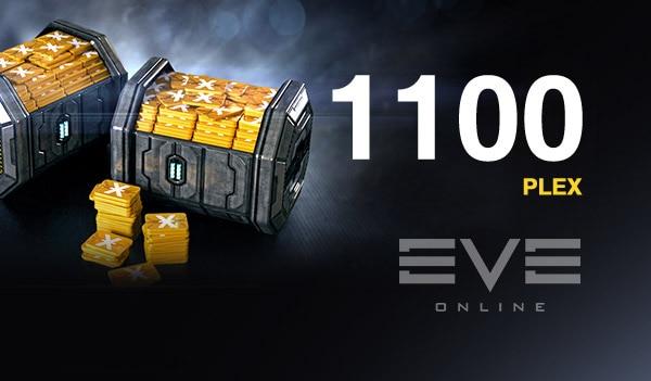 EVE Online 1100 PLEX Code GLOBAL - 2