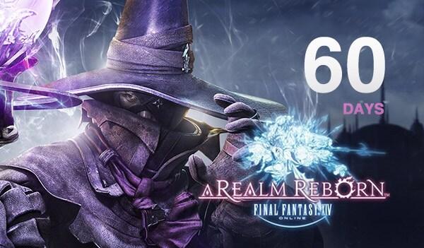 Final Fantasy XIV: A Realm Reborn Time Card 60 Days Final Fantasy EUROPE - 2
