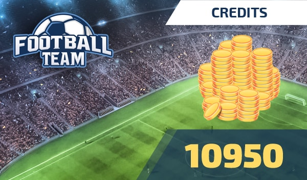 Football Team 10950 Credits - footballteam Key - GLOBAL - 1
