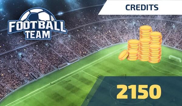 Football Team 2150 Credits - footballteam Key - GLOBAL - 1