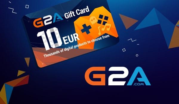 G2A Gift Card G2A.COM Key GLOBAL 10 EUR - 1