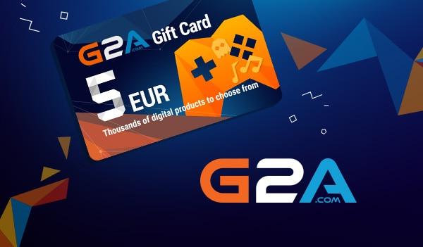 G2A Gift Card G2A.COM Key GLOBAL 5 EUR - 1