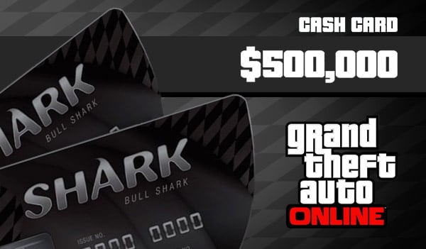 Grand Theft Auto Online: Bull Shark Cash Card 500 000 Xbox Live Key GLOBAL - 1