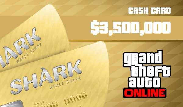 Grand Theft Auto Online: The Whale Shark Cash Card 3 500 000 Xbox Live Key GLOBAL - 2