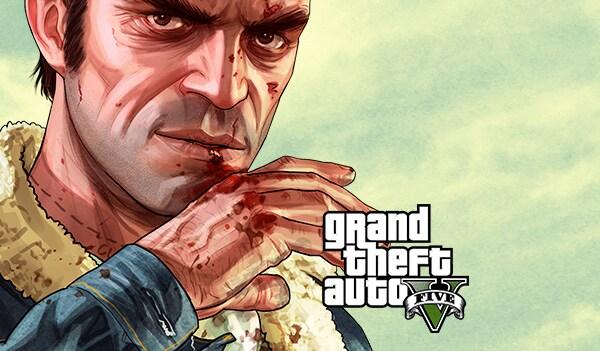 Grand Theft Auto V: Premium Online Edition & Great White Shark Card Bundle Rockstar Key GLOBAL - 1
