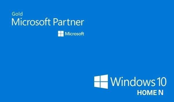 Microsoft Windows 10 Home N (PC) - Microsoft Key - GLOBAL - 1