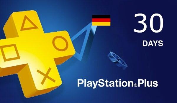 Playstation Plus CARD 30 Days PSN GERMANY - 2