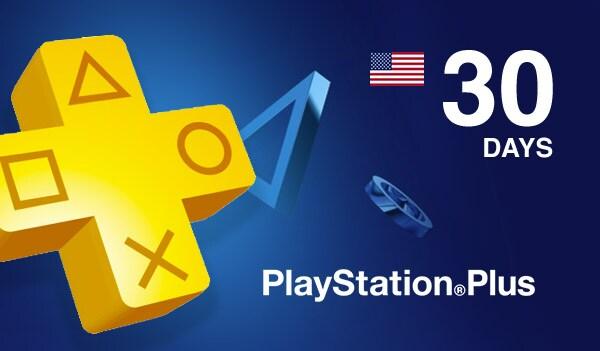Playstation Plus CARD 30 Days PSN NORTH AMERICA - 2
