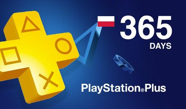 Playstation Plus CARD 365 Days POLAND PSN - 2