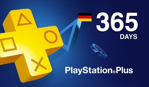 Playstation Plus CARD 365 Days PSN GERMANY - 2