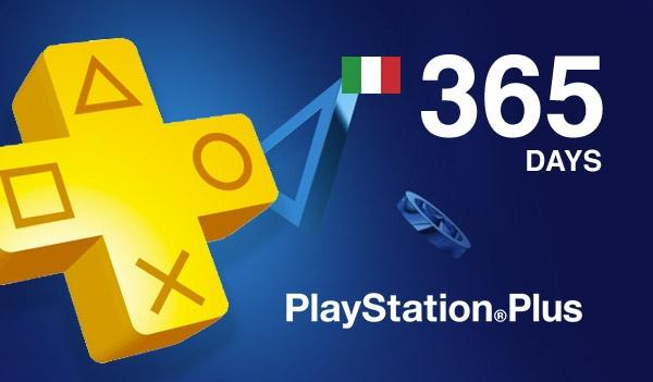 Playstation Plus CARD 365 Days PSN ITALY - 2