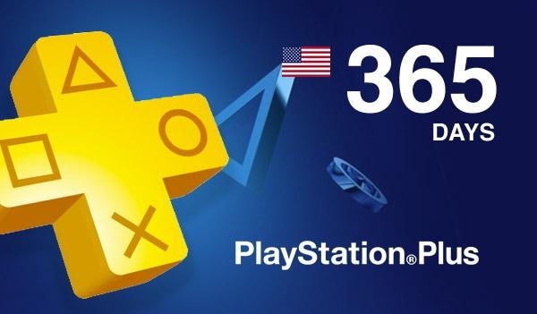 Playstation Plus CARD 365 Days PSN NORTH AMERICA - 2