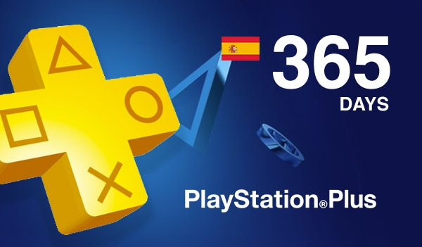 Playstation Plus CARD 365 Days PSN SPAIN - 2