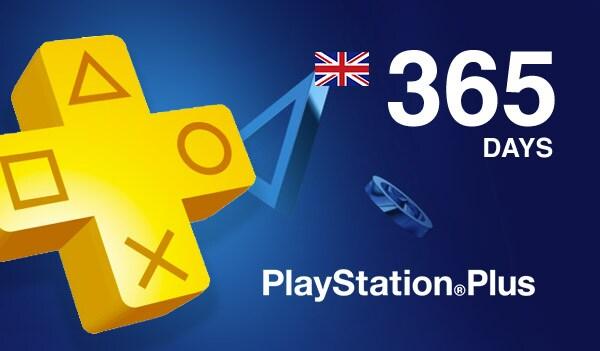 Playstation Plus CARD 365 Days PSN UNITED KINGDOM - 2