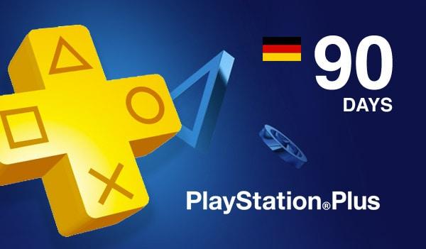 Playstation Plus CARD 90 Days PSN GERMANY - 2