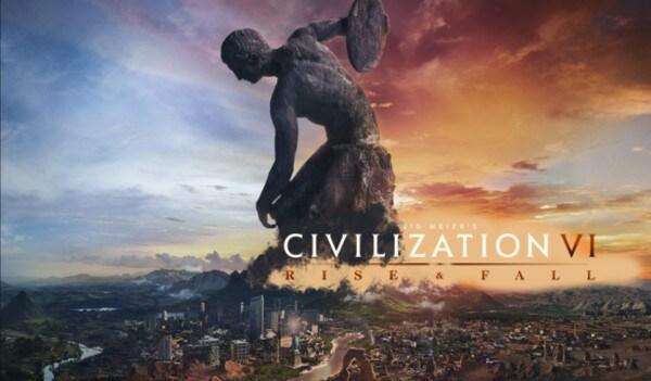 Sid Meier's Civilization VI: Rise and Fall DLC Steam Key GLOBAL - 2
