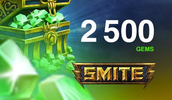 SMITE GEMS 2 500 Coins (PC) - SMITE Key - GLOBAL - 2
