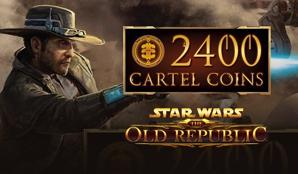Star Wars the Old Republic 2400 Cartel Coins CARD Star Wars GLOBAL - 2