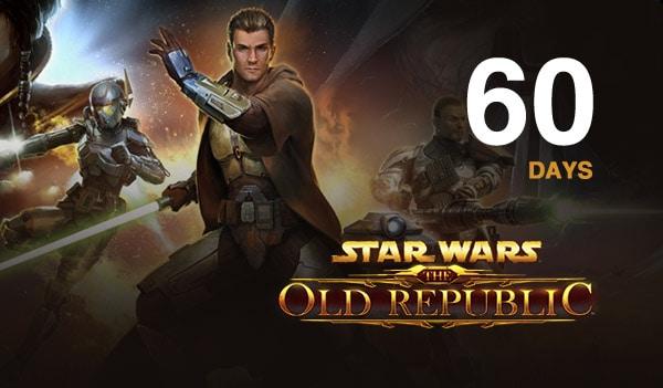 Star Wars The Old Republic Prepaid Time Card 60 Days GLOBAL Star Wars - 2