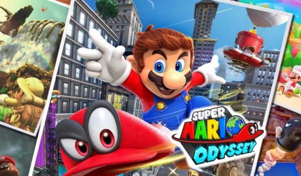 Super Mario Odyssey Nintendo Switch Nintendo Key NORTH AMERICA - 2