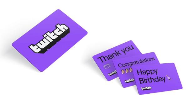 Twitch Gift Card 15 EUR - twitch Key - BELGIUM - 1