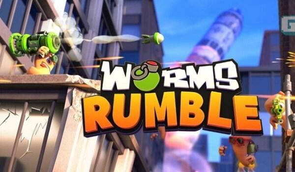Worms Rumble (Nintendo Switch) - Nintendo Key - EUROPE - 2