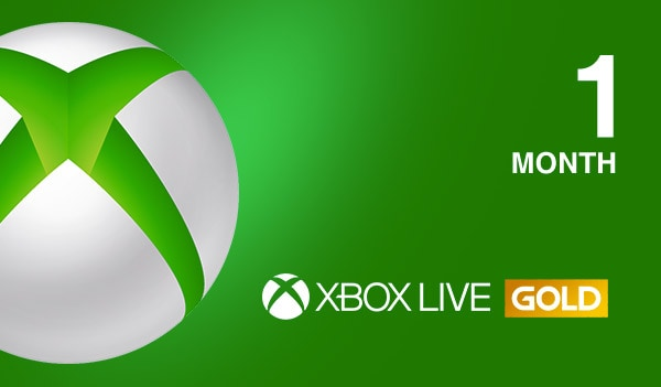 Xbox Live GOLD Subscription Card 1 Month Xbox Live GLOBAL - 2