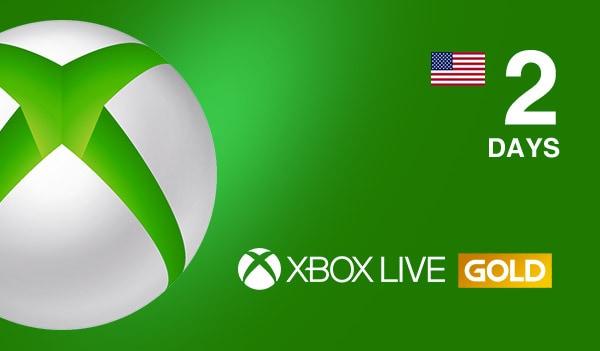 Xbox Live Gold Trial 2 Days Xbox Live NORTH AMERICA - 2