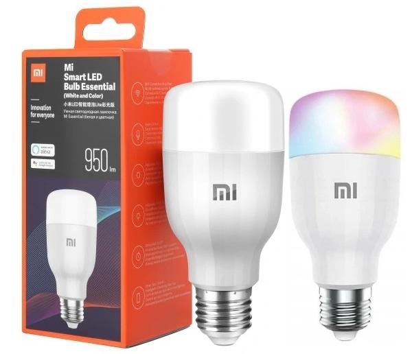 Xiaomi Żarówka Mi Led Smart Bulb White&Color - 1