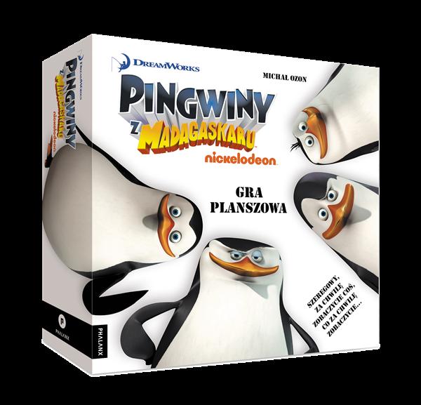 PINGWINY Z MADAGASKARU : GRA PLANSZOWA - 1
