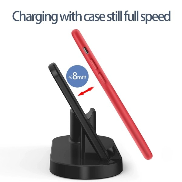 3 in 1 Fast Wireless Charger Black - 3
