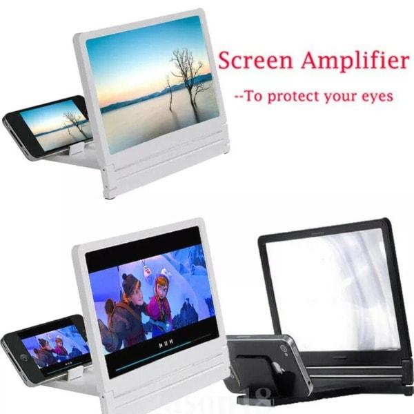 3D Movie Screen HD Amplifier White - 2