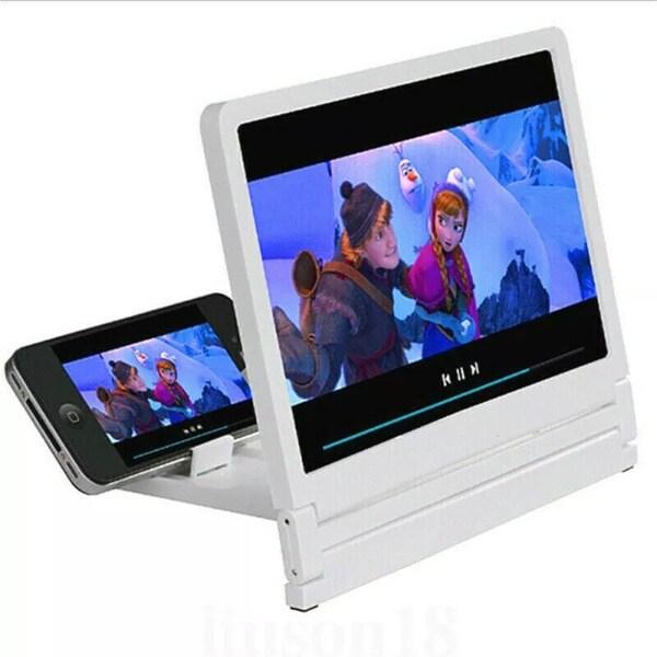 3D Movie Screen HD Amplifier White - 1