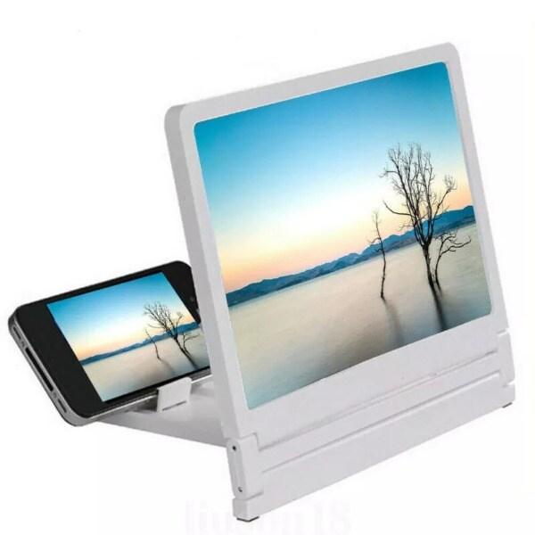 3D Movie Screen HD Amplifier White - 3