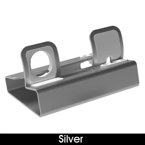 3in 1 Charging Dock Silver - 2