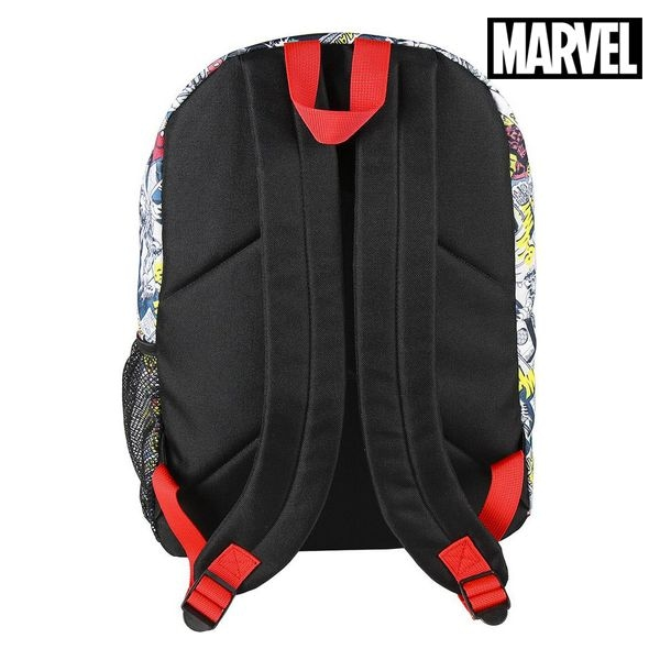 Casual Backpack Marvel Multicolour - 4